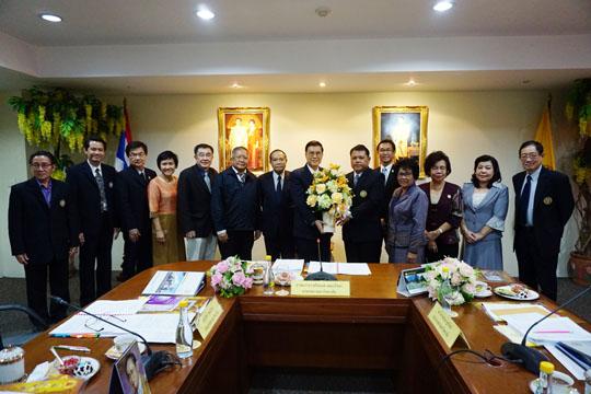 ขอแสดงความยินดีแด่ ดร.อณาวุฒิ ชูทรัพย์ อธิการบดีมหาวิทยาลัยราชพฤกษ์